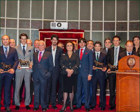 Diego Ventura, protagonista en la entrega de premios del Casino de Madrid