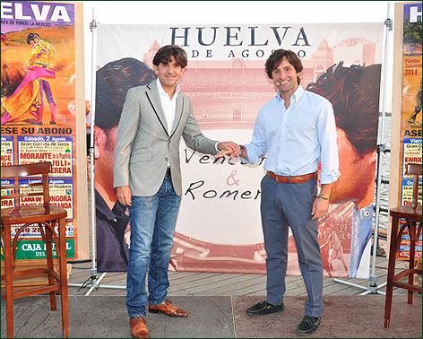 Diego Ventura y Andrés Romero presentan el mano a mano de Huelva