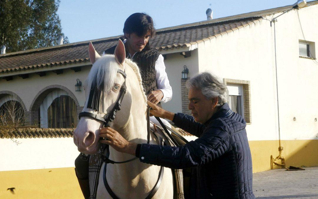 Diego Ventura y Andrea Bocelli, encuentro de dos genios