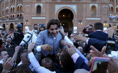 Diego Ventura en Madrid, protagonistas en Tendido Cero