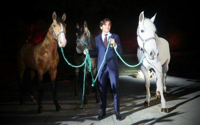 Diego Ventura presenta su cuadra de caballos en México