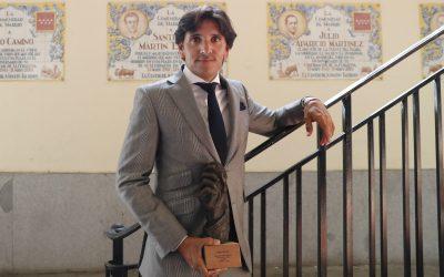 Diego Ventura recibe la Oreja de Oro Especial de RNE