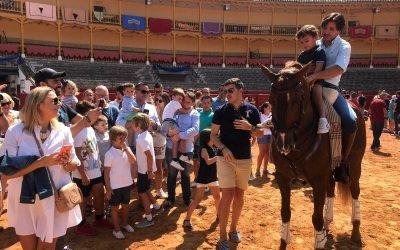 Taller de Rejoneo para niños en las vísperas de Aranjuez