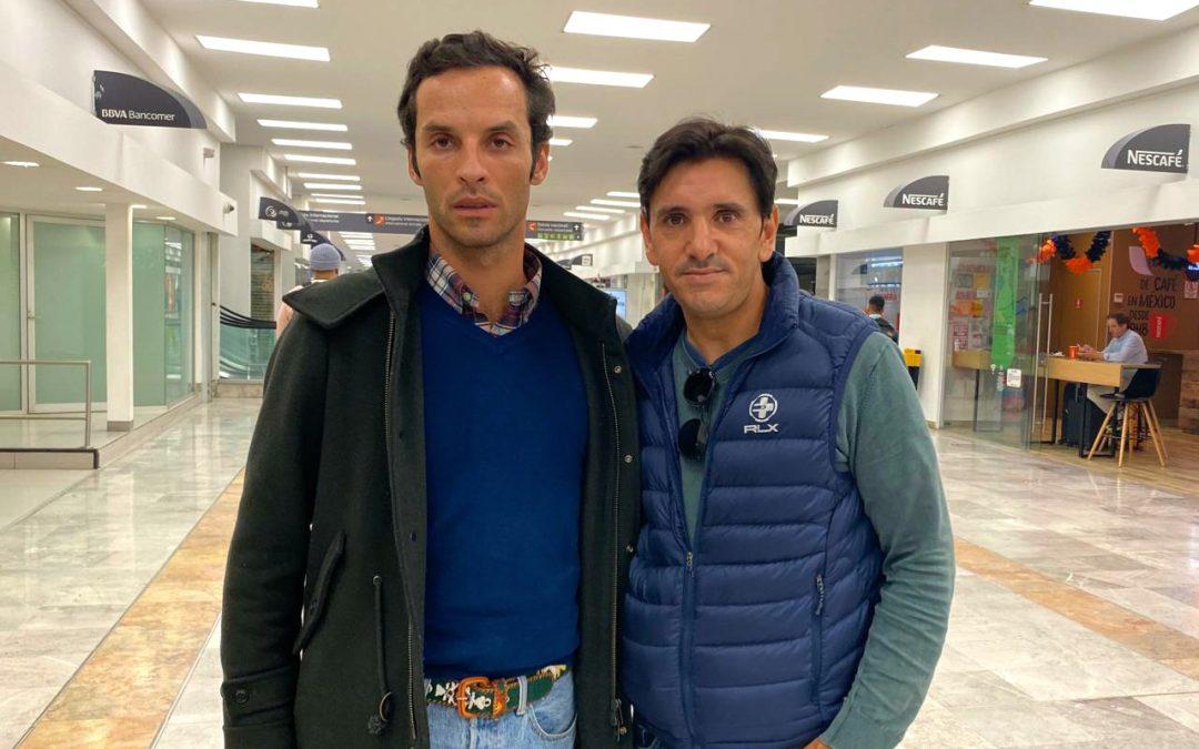 Diego Ventura llega a México