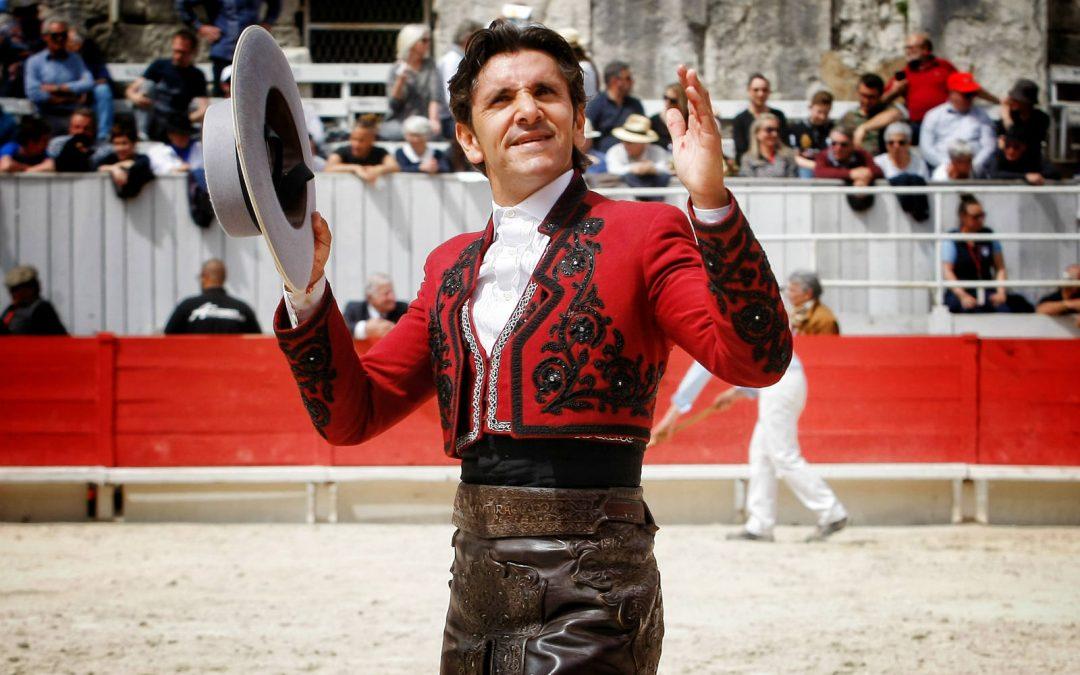 Diego Ventura, con seis toros en Arles