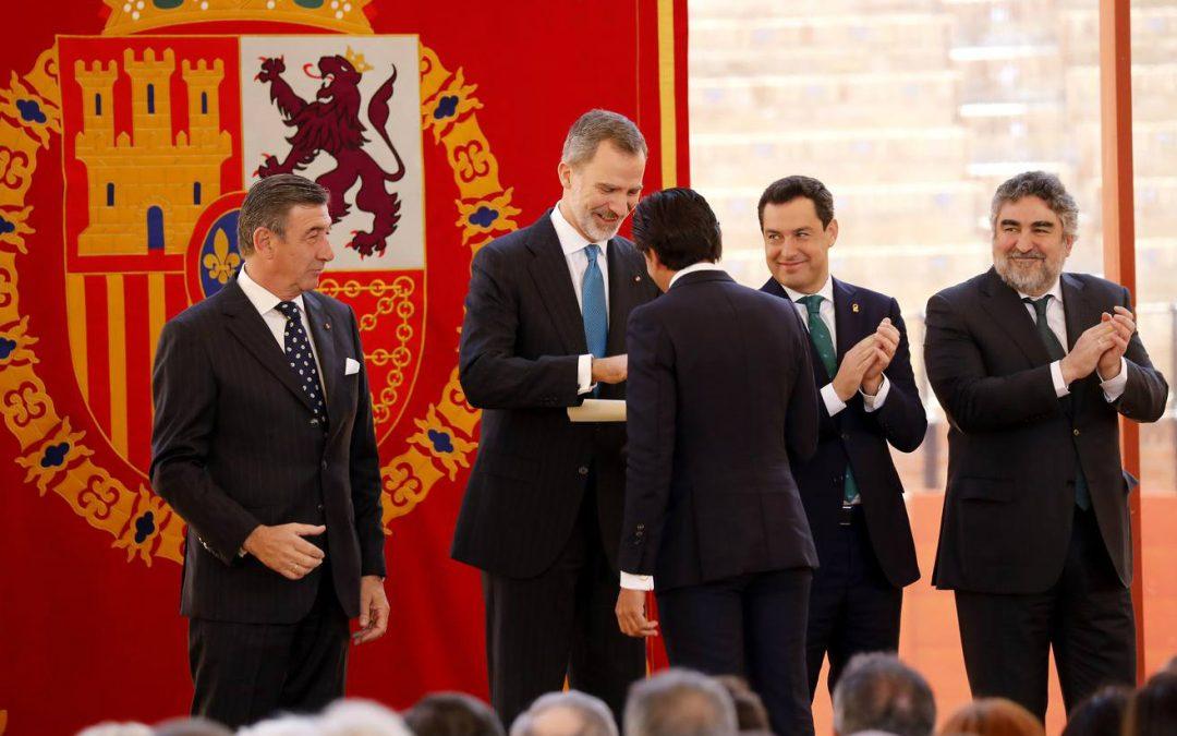 Diego Ventura, premio de la Maestranza de Sevilla